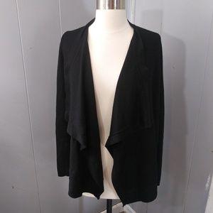 3/$20 Ann Taylor LOFT Black Wool Blend Cardigan
